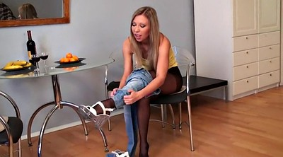 Jeans, Teen pantyhose