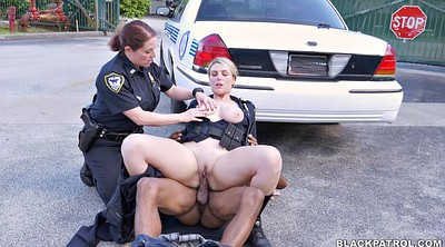 Street, Interracial threesome