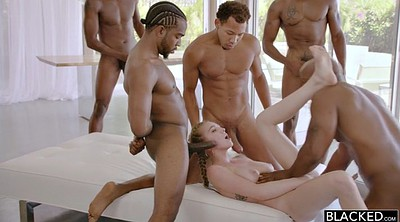 Teen gangbang, Rough
