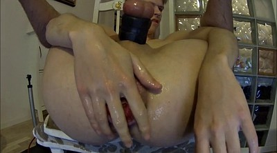 Gape, Fist toy, Gaping pussy