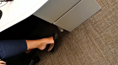 Hidden masturbation, Ballet, Office foot, Flat, Office feet