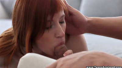 First anal, Anal redhead