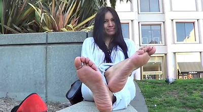 Foot fetish, Asian foot