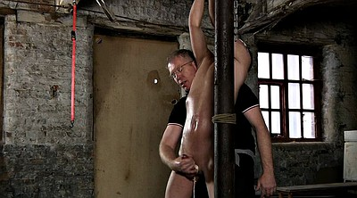 Milk, Bound, Gay slave, Bdsm milking, Slave boy, Gay milk