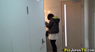 Asian teen, Public pee, Asian public, Public voyeur, Asian cam