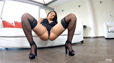 Black stockings, High, Stockings solo