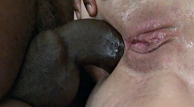 Granny, Granny anal, Mouth fuck, Mature interracial anal
