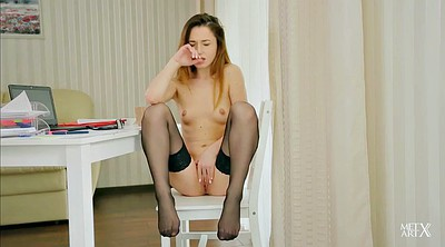 Stockings masturbate, Stockings skinny, Stockings solo, Solo brunette stockings, Stripped, Stockings brunette