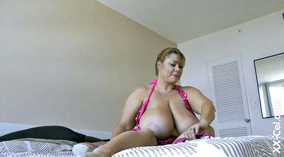 Hairy blonde, Big tit solo