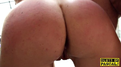 Neighbor, British milf, Doggy style, Big tits hd, Tough