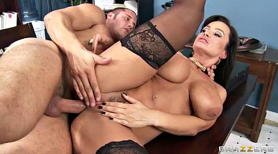 Lisa ann, Doll, Office anal, Big tit