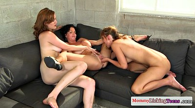 Busty, Trio, Busty mature, Threesome mature