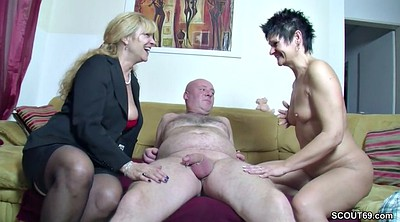 Milf casting, Casting milf, Couple threesome, Real threesome, Real casting, German casting