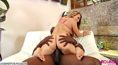 Ebony interracial