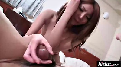 Creampie, Hairy pussy, Asian hairy