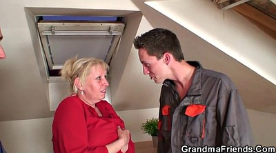 Granny threesome, Old woman, Old gay, Mature woman, Gay old young, Gay mature