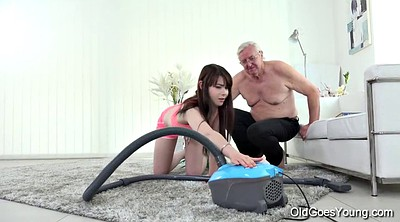 Old creampie, Granny creampie, Old goes young