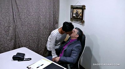 Dad, Asian office, Erotic