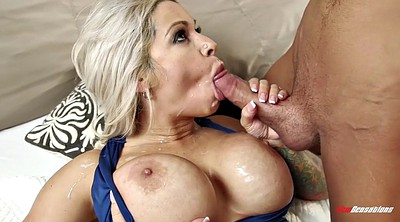 Blonde, Mom anal, Mom fucked