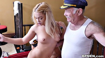 Old man, Kenzie, Granny threesome