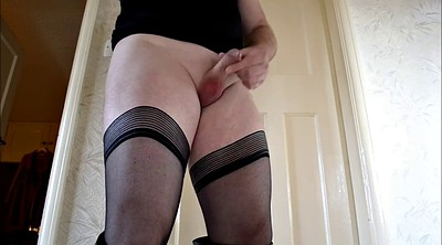 Boots, Stockings solo, Solo pantyhose, Crossdressers
