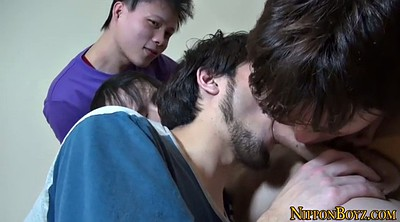 Japanese gay, Japanese cum, Group japanese