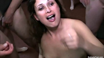 Bukkake, Cash, Alice, Facial amateur, Gangbang amateur, Party cum