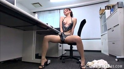 Natural, Office pantyhose, Model solo, Asian pantyhose