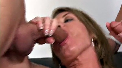 Milf anal, Mom anal, Mature facial, Young mom, Mom blowjob