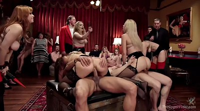 Submissive, Submission, Tie, Sex party