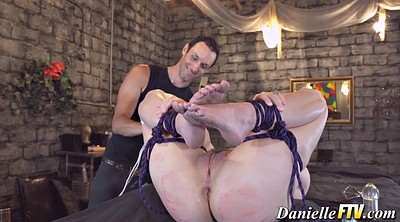 Tied, Chubby pussy, Bondage anal, Pussy hairy, Chubby hairy, Anal hairy