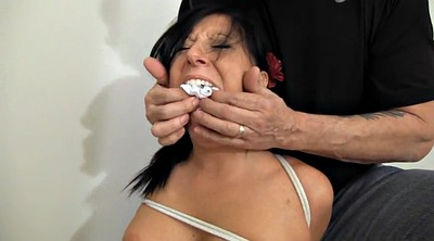 Bondage, Tied up, Tied tits, Submission