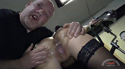 Compilation, Creampie compilation, German gangbang