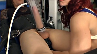 Machine, Crossdress, Milk machine, Crossdress bondage