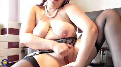 Saggy, British, Bbw mom, Bbw mature