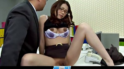 Japanese secretary, Subtitle, Asian fuck