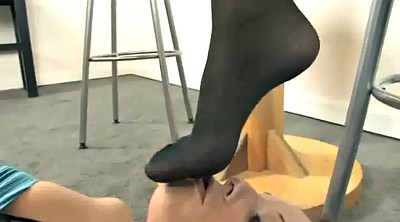 Nylon foot, Lesbian foot, Nylon feet, Lick feet, Foot worship, Nylons