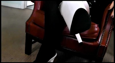 Latex, Smoking, Bbw foot, Foot bdsm