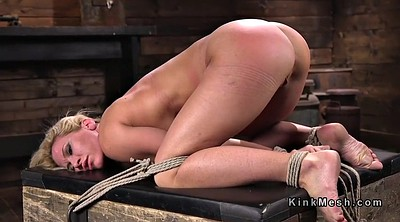 Whipping, Hogtied, Tit whipping