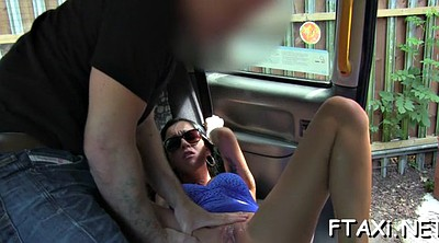 Fake taxi, Fake, Car sex, Car blowjob
