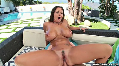 Outdoor, Ava addams, Anal milf