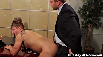 Office, Gaping, Punish, Anal punishment
