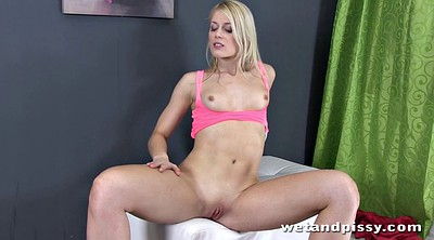 Solo orgasm, Girls orgasm, Blonde beauty