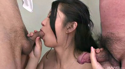 Asian gangbang, Reality, Pantyhose blowjob, Pantyhose handjob, Panty handjob