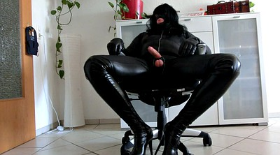 Crossdresser, Leather, Gloves, Glove