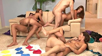 Swinger, Sex game, Group sex orgy