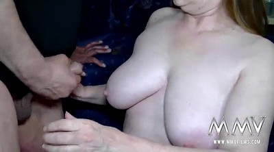 German mature, Fingered