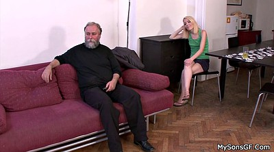 Czech, Teen old man, Sons girlfriend
