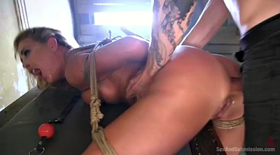 Bondage, Thick, Tied anal, Cherie, Big hole
