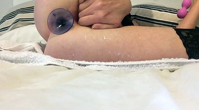 Squirting, Anal squirting, Butt plug